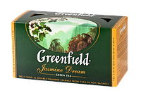 Чай Greenfield Jasmine Dream зеленый с жасмином в пакетиках 25 шт.