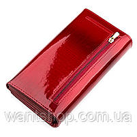 Гаманець жіночий ST Leather 13192 (S2001A) багатофункціональний Червоний, фото 2
