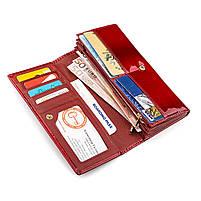 Гаманець жіночий ST Leather 13192 (S2001A) багатофункціональний Червоний, фото 3