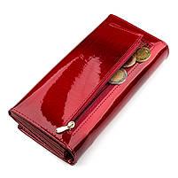 Гаманець жіночий ST Leather 13192 (S2001A) багатофункціональний Червоний, фото 5