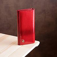 Гаманець жіночий ST Leather 13192 (S2001A) багатофункціональний Червоний, фото 6