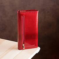 Гаманець жіночий ST Leather 13192 (S2001A) багатофункціональний Червоний, фото 7