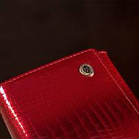 Гаманець жіночий ST Leather 13192 (S2001A) багатофункціональний Червоний, фото 8