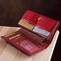 Гаманець жіночий ST Leather 13192 (S2001A) багатофункціональний Червоний, фото 9