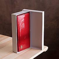 Гаманець жіночий ST Leather 13192 (S2001A) багатофункціональний Червоний, фото 10