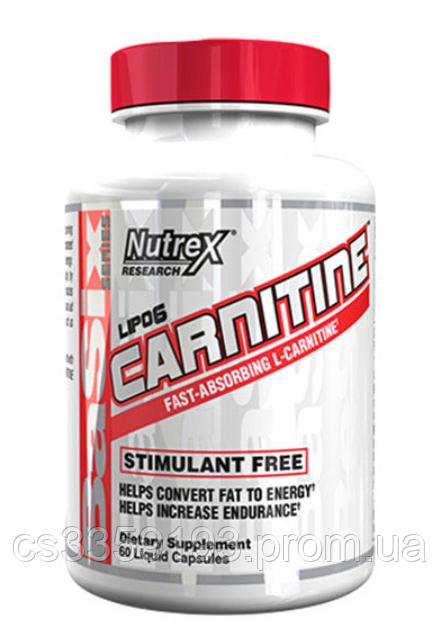 Nutrex - Lipo 6 Carnitine 60 капсул
