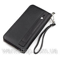 Мужской кошелек ST Leather 18411 (ST45) натуральная кожа Черный, фото 2