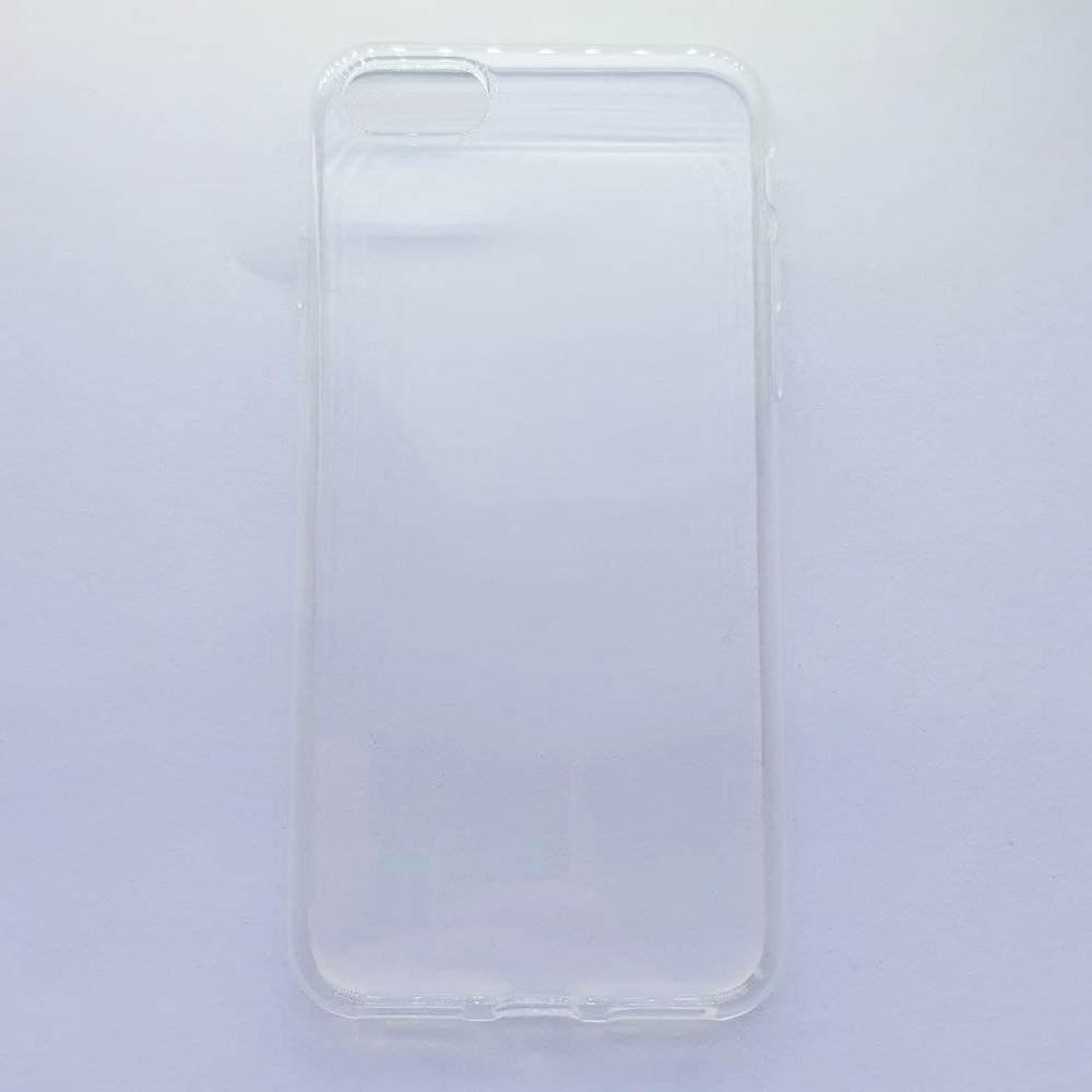 Чехол-накладка Silicone Case для Apple iPhone 7 iPhone 8 прозрачный