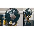 Гіро-глобус Solar Globe «Політична карта світу» Ø 15,3 см (обертається від будь-якого джерела світла), фото 4