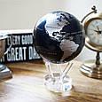Гіро-глобус Solar Globe «Політична карта світу» Ø 15,3 см (обертається від будь-якого джерела світла), фото 2