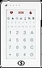 Клавіатура Лінд-29 для Лунь-11, Лунь-25