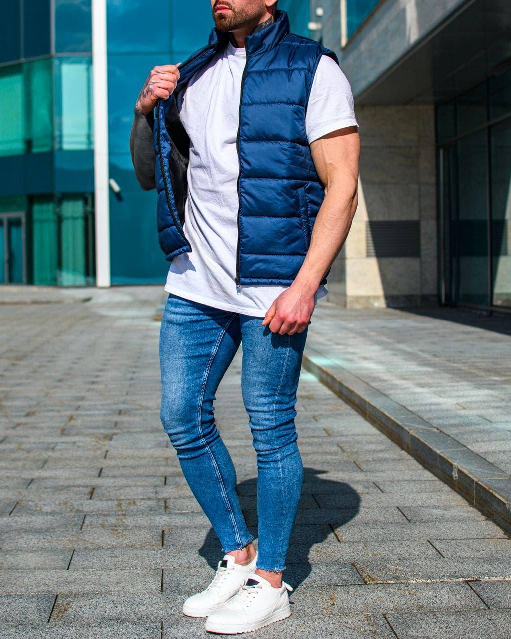Мужская куртка. Мужская жилетка.