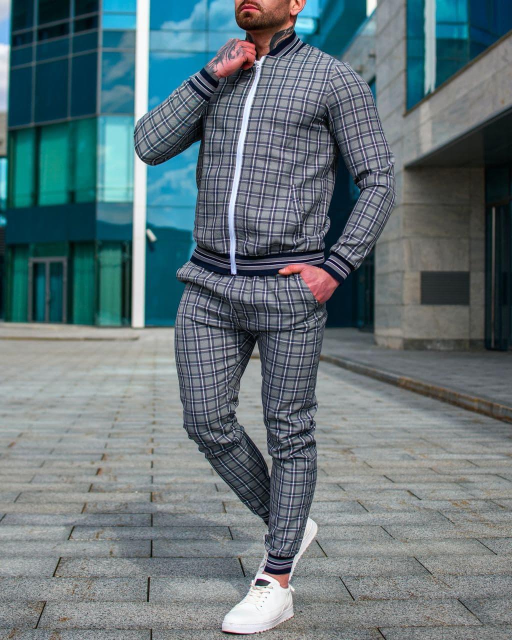 Чоловічий спортивний костюм. Джентельмен.
