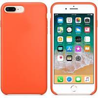 Чехол Silicone Case для iPhone 7 Plus, iPhone 8 Plus OR Orange
