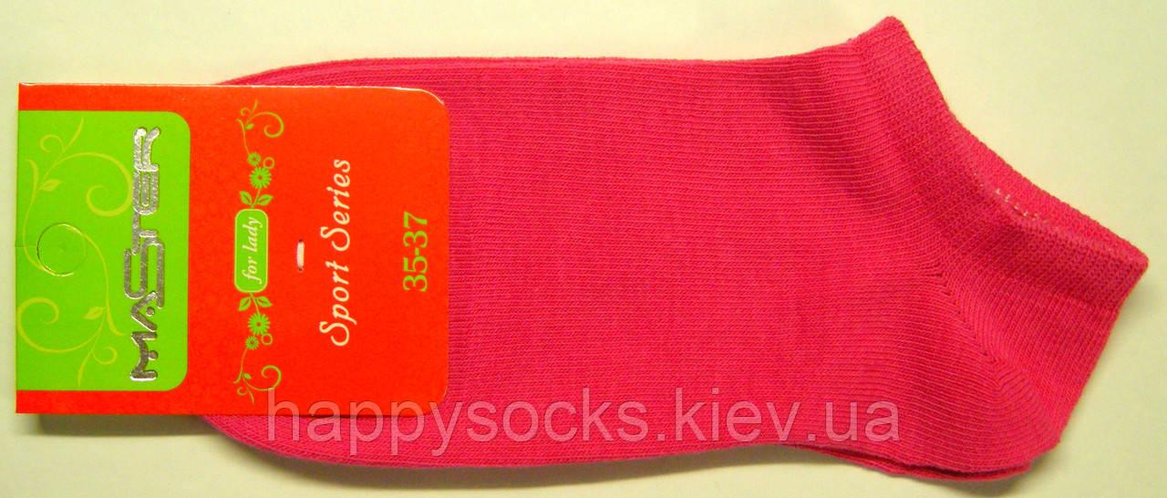 Розовые короткие женские носки