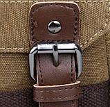 Рюкзак Vintage 14481 Бежевий, Бежевий, фото 9