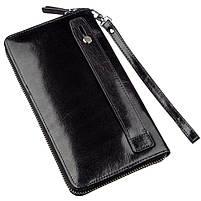 Вместительное мужское портмоне-клатч Boston 31806 Черный, фото 2