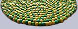 Зелено желтый шерстяной ковер из Непала, фото 3