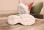 Стильные женские кроссовки сетка белого цвета. 36-41, фото 2