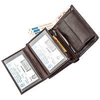 Сучасне чоловіче портмоне Boston 51825 Коричневий, фото 4