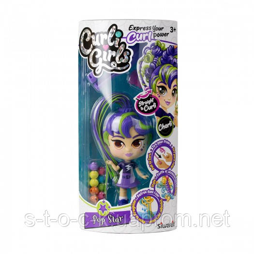 Ігровий набір з лялькою Curligirls - Поп-зірка Чарлі