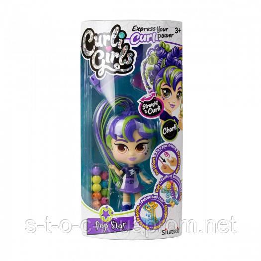 Игровой набор с куклой Curligirls - Поп-звезда Чарли