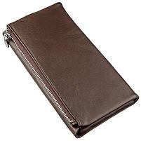 Практичний жіночий гаманець-клатч ST Leather 18833 Коричневий, фото 2