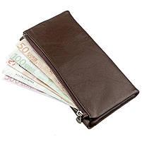 Практичний жіночий гаманець-клатч ST Leather 18833 Коричневий, фото 5