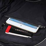 Рюкзак Vintage 14955 кожаный Черный, фото 7
