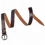 Ремень кожаный MAYBIK 15233 Коричневый, фото 3