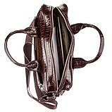 Портфель мужской KARYA 17363 кожаный Коричневый, фото 4