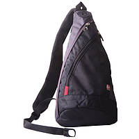 Рюкзак Wenger Mono Sling с одним плечевым ремнём черный/серый