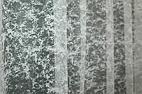 """Відріз (3х2,7м.) тканини, залишок з рулону. Тюль жаккард, колекція """"Мармур Al-1"""", колір бежевий. Код 700ту 00-310, фото 1"""