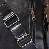 Сумка мужская SHVIGEL 11101 кожаная Черная, фото 8