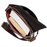 Мужская кожаная сумка SHVIGEL 19101 Коричневая, фото 4