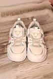 Стильные женские кроссовки сетка белого цвета. 36-41, фото 6