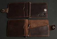 Зажим для купюр SHVIGEL 13742 Коричневый, фото 2