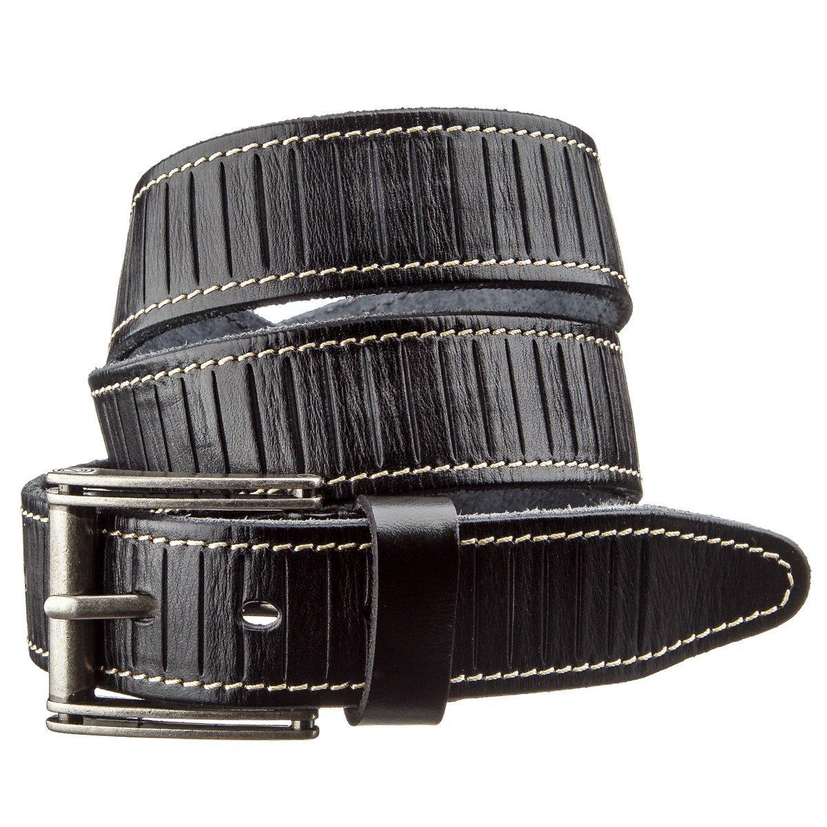 Ремень мужской Vintage 20072 Черный