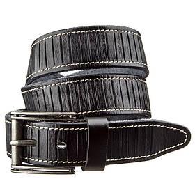 Ремінь чоловічий Vintage 20072 Чорний
