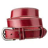 Ремень женский Vintage 20124 Бордовый, фото 3