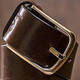 Ремень мужской джинсовый Grande Pelle 11267 Коричневый, фото 4