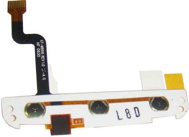 Шлейф Samsung M8910 Pixon12 з клавіатурним модулем і мікрофоном Original