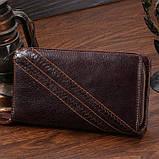 Мужской клатч Vintage 14202 Коричневый, фото 3