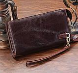 Мужской клатч Vintage 14202 Коричневый, фото 5