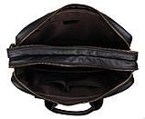 Сумка мужская Vintage 14218 для ноутбука Черная, фото 8
