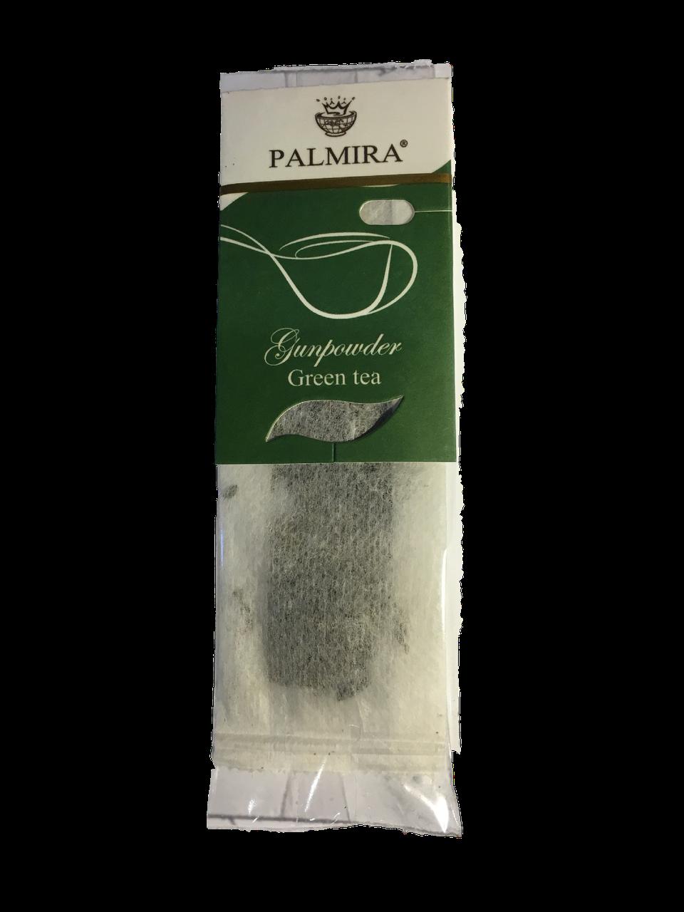 Порционный  зеленый чай для чашки Gunpowder (Ганпаудер)