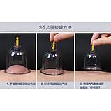 Банку вакуумна масажна пластикова антицелюлітна К1 (діаметр зовнішній - 6,9 см/внутрішній діаметр - 5,7, фото 6