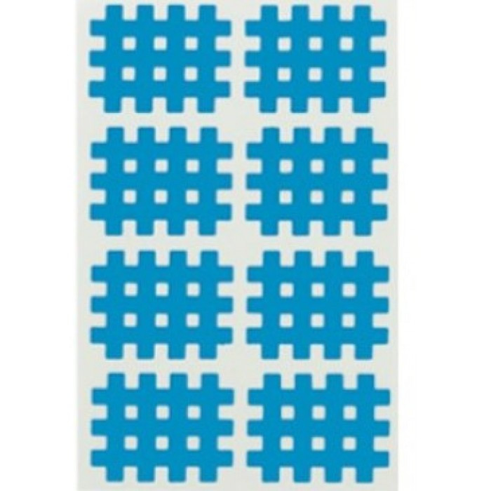 Кросс-тейп, Cross tape, спиральный тейп, кросс-тейп тип А2, 2х4 (упаковка 5 шт)