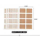 Кросс-тейп, Cross tape, спиральный тейп, кросс-тейп тип А2, 2х4 (упаковка 5 шт), фото 4