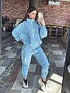 Легкий Спортивний Костюм Жіночий Блакитний, фото 2